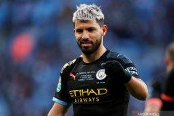Aguero mengunggah pernyataan resmi setelah pasti tinggalkan City