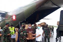 Ribuan alat kesehatan dari pusat tiba di Malut