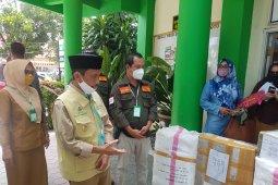 Bupati Nelson apresiasi bantuan APD dari PG Tolangohula