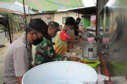 Kodim 1314 dan Polres Limboto siapkan dapur umum terdampak COVID-19