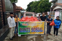 LSM sampai pengusaha kompak bantu korban banjir Cilegon