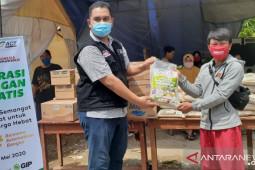 ACT-JNE beri bantuan dapur umum COVID-19 Bekasi