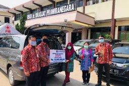 Jamkrindo Cabang Serang salurkan bantuan APD ke RSDP
