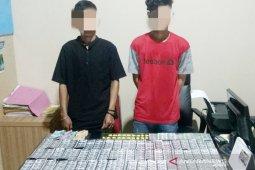 Penyedia produk farmasi ilegal beraksi di Cibungbulang Bogor ditangkap polisi