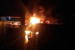 Pasar Beo Talaud Terbakar
