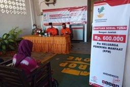 2.890 KPM Kukar terima BST melalui PT Pos Indonesia