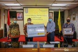 UI menerima bantuan 1.000 paket sembako dari Bank Mayapada
