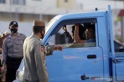 Tiga warga berupaya mengelabui petugas di perbatasan saat PSBB Gorontalo