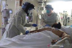 Jumlah pasien COVID-19 di rumah sakit Amerika Serikat memuncak