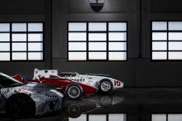Mobil sport Maserati didedikasikan prototipe MC20 untuk Stirling Moss