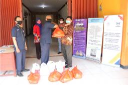 ASABRI salurkan 325 paket sembako untuk warga terdampak COVID-19 di Kubu Raya