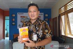 Stok daging beku di Perum Bulog Belitung menipis
