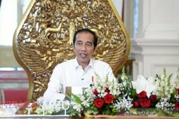 Presiden Jokowi anjurkan silaturahim virtual saat Lebaran