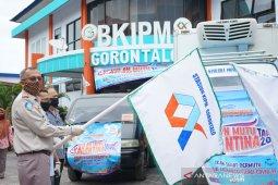 SKIPM Gorontalo salurkan bantuan 1.925 paket ikan ke warga terdampak