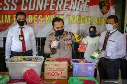 Polresta Tangerang tangkap tujuh wanita penipu penjual parcel Lebaran