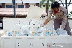 Foto - Bantuan ikan segar ke warga Gorontalo terdampak COVID-19
