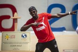 Legenda sprint Jamaika Usain Bolt resmi jadi seorang ayah