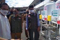 Pertamina salurkan bantuan CSR dukung penanggulangan COVID-19 di Sukabumi
