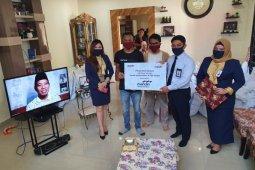 Bank Mandiri Gorontalo kembali distribusikan ribuan paket sembako