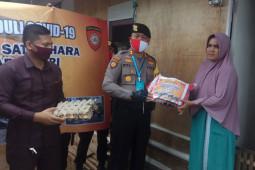 Polda Aceh salurkan bantuan COVID-19 kepada masyarakat pesisir