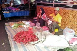 Kegiatan pasar tradisional di Mukomuko dimajukan karena Lebaran