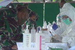 """274 personel TNI ikuti """"rapid test"""" di Makorem 163/Wirasatya (video)"""