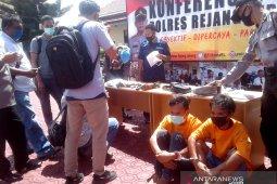Polisi Rejang Lebong selidiki senjata api milik pengedar narkoba