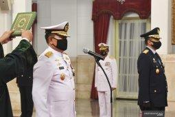 Dilantik jadi KSAL, ini jejak karier Laksamana Yudo Margono