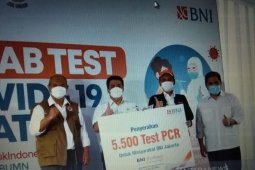 Tekan wabah COVID-19, BNI tes swab gratis untuk 30 ribu orang