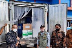 Alat tes PCR bantuan Singapura telah tiba di Jambi