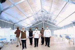 Rumah Sakit Lapangan COVID-19 di Surabaya mampu tampung 500 pasien
