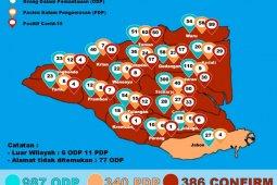 Jumlah pasien positif COVID-19 di Sidoarjo capai 386 orang