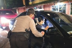 Polres Cianjur perketat pemeriksaan kendaraan para pemudik