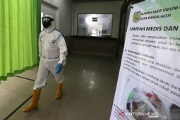 Aceh lapor satu sembuh COVID-19, dan bertambah satu kasus baru