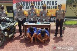 Polres Rejang Lebong tangkap dua remaja perampas ponsel