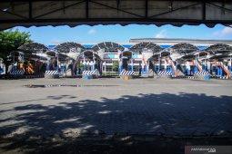 Terminal Bungurasih sepi aktivitas pemudik