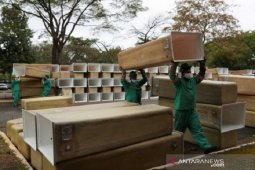 Wabah corona di Brazil memburuk, total kasus dekati 500.000