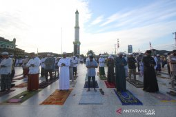 Shalat Idul Fitri Di Banjarmasin