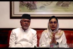 Sri Mulyani menangis saat ucapkan Selamat Idul Fitri