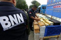 Waduh, BNN nyatakan Aceh masuk peringkat enam provinsi rawan narkoba