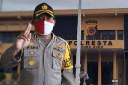 Tidak pakai masker, polisi di Banda Aceh terancam hukuman disiplin