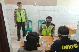 Personel Polsek Medan Kota jalani rapid test COVID-19