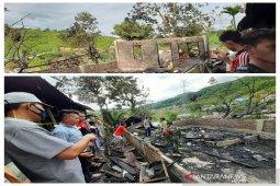 Rumah boru Panggabean hangus terbakar di Sibolga