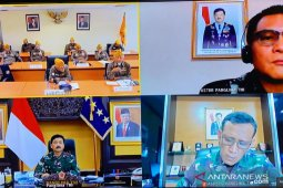 Panglima TNI sebut dibutuhkan semangat dalam menangani COVID-19