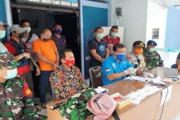 Pengedar sabu yang ditangkap BNNK Tebing Tinggi oknum TNI palsu