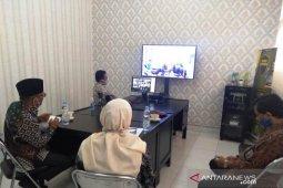Civitas Polbangtan Medan halal bihalal secara virtual