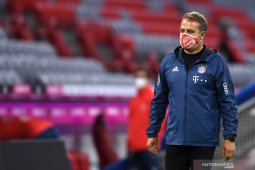 Hansi Flick enggan dilenakan catatan bagus Bayern Muenchen