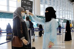 Jamaah haji dari lima kota Arab Saudi tiba di Bandara Internasional King Abdulaziz Jeddah