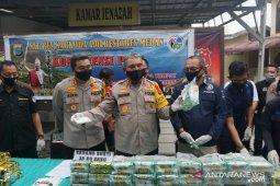 Polisi gagalkan peredaran 35 kilogram sabu dari Malaysia menuju Medan
