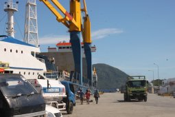 Ekspor Malut pada April turun 32,61 persen dibanding Maret